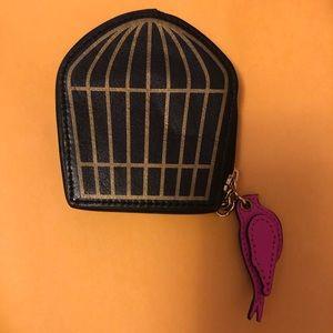 Kate spade birdcage coin purse.